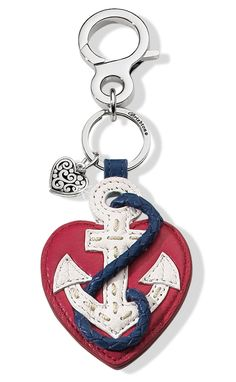 You'll be humming Anchor's Aweigh with our charming Ahoy Anchor Handbag Fob. #BrightonCollectibles