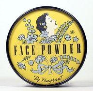 vintage face powder