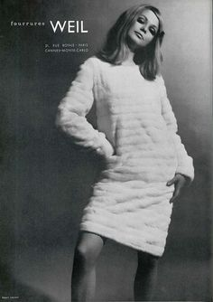 #weil#whitefur#sixties#fur