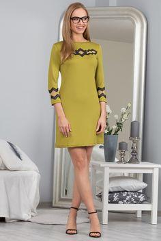 Sukienka khaki 9821