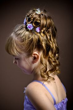 Kids Hairstyles For Weddings Kids Hairstyles For Girls On Wedding 7