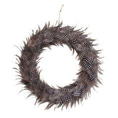 Adelaide Ornament Krans, Fjädrar 363 kr. - RoyalDesign.se