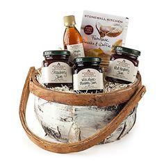 Stonewall Kitchen Breakfast Gift Basket - http://mygourmetgifts.com/stonewall-kitchen-breakfast-gift-basket/