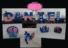 Kit Festa Capitão América