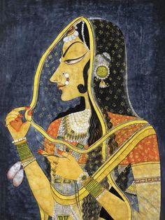 Indian Art - Acrylic Painting - Murlaidhar Krishna - Art Prints by Raghuraman Small Canvas Prints, Framed Art Prints, Buddha Painting, Oil Painting On Canvas, Textured Painting, Art Indien, Toilet Art, Mona Lisa, India Painting