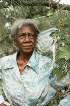 Emma Dupree (1897 – 1995), an herb doctor who received the North Carolina Folk Heritage Award in 1992.
