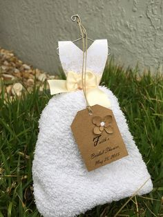 15 Beautiful bridal shower favor WashCloth by MYBeautifulCrafts