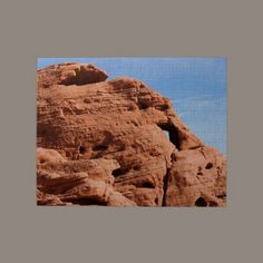 Baby Elephant Valley of Fire Jigsaw #Puzzle #gifts #photos $16.85