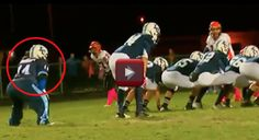 Waterboy with Down Syndrome Becomes the Football Team's Hero!