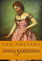 BBC's The Big Read - Best Loved Novels of All Time - How many have you read? This is difficult reading but it's well worth it. Anna Karenina
