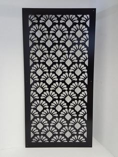 50 x 26 Decorative Panel Privacy Screen Garden Fence Art, Cnc Cutting Design, Pooja Room Door Design, Decorative Screens, Metal Fence, Fence Panels, Fence Design, Custom Metal, Handmade Design