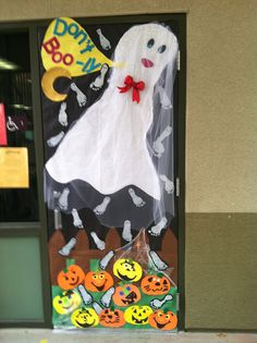 "My Red Ribbon Week ""Anti-Bully"" Theme door decoration for 2013."