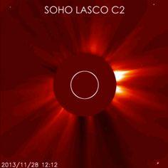 Cometa #ISON no soporto fuerza del sol http://static5.businessinsider.com/~~/f?id=5297e92e6da811194828f9d2