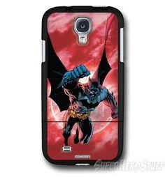 Batman Red Sky Punch Galaxy S4 Slider Case