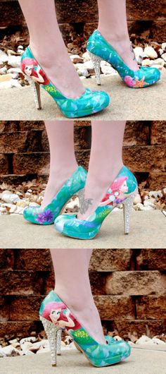~Ariel High Heels.....for Ozzy & Ellorah