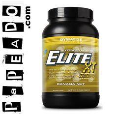 Elite XT (2.2 Lbs) - BANANA NUT: http://papeado.com/tienda/proteinas/214-elite-xt-4-4-libras-dymatize.html