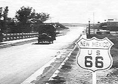 Route 66: The Main Street of America - This road is important because this is the road that everybody took to get to California.