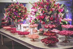 mesa de doces rosa pink formatura - Pesquisa Google