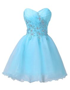 TF Queen Strapless Prom Dresses for Girls Sleeveless Short Pretty: Amazon.co.uk: Clothing