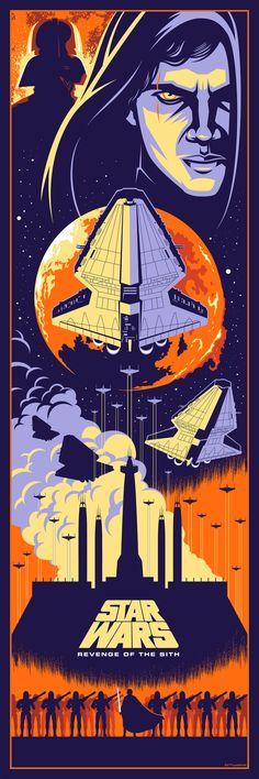 Star Wars III: Revenge of the Sith, by Eric Tan #erictan #starwarsprint