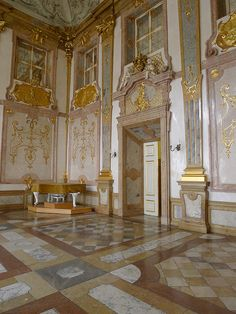 Marble Hall in The Mirabell Palace ~ Salzburg, Austria