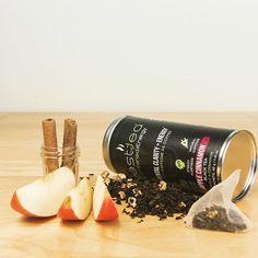 Zest Tea, příchuť Apple Cinnamon. :-) Omnomnom. #freshenergycz #zesttea #caj #jablko