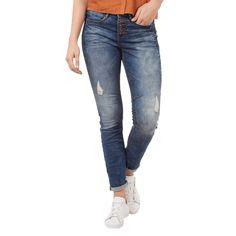  #Tom #Tailor #Denim #Damen #Anti #Fit #Destroyed #Jeans mit #Knopfleiste