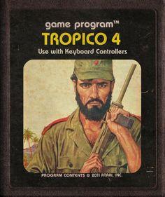 Modern Games as Atari Cartridges