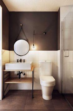 Nesse banheiro indus