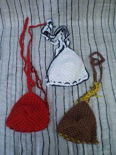 Crochet Bikini, Bikinis, Swimwear, Suits, Fashion, One Piece Swimsuits, Outfits, Moda, La Mode