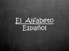 Spanish Alphabet PowerPoint Presentation - Everything you need to teach the letters of the Spanish Alphabet! Includes letters of the alphabet, a vowel rhyme and song, special sounds, pronunciation practice, spelling practice, bell ringers, guess the word/