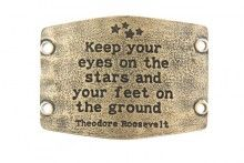 Keep your eyes on the stars cuff