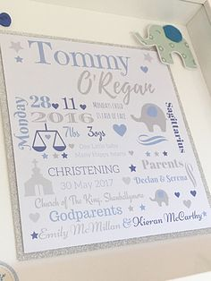 Christening Frames, Monday's Child, Happy Heart, Little Babies, Great Gifts, Amazing Gifts