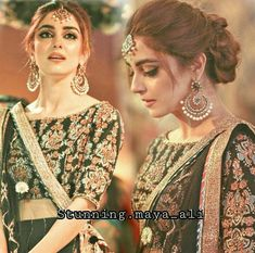 Brides by sajida Lehenga Hairstyles, Indian Wedding Hairstyles, Pakistani Bridal Makeup, Pakistani Bridal Dresses, Walima Dress, Bridal Braids, Bridal Hairdo, Desi Wedding Dresses, Bridal Outfits