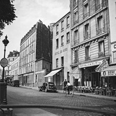 1940s - Paris - France - By Alexandre Trauner