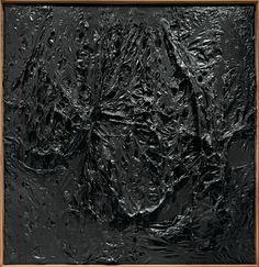 Risultati immagini per burri grande nero plastica 1962
