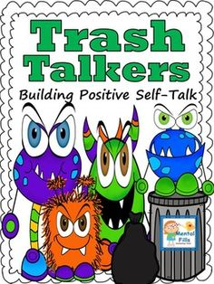 Armoring children with positive self-talk strategies is important in improving mood, self-esteem, and friendships. These activities help identify the difference between negative (trash) and positive (treasure) talk. They introduce the idea and practice of using ones positive self-talk to build confidence, self-esteem, and mood management.Included in this product are:Lesson directions.Thirteen therapeutic worksheets with separate examples.Forty eight task cards with negative (Trash)…