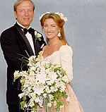 Actress Jane Seymour weds fourth husband, actor, producer, and director James Keach in 1993.  They are the parents of twin boys born in 1995.