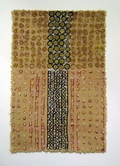 Naata Cloth      cotton and silk on linen, 2013