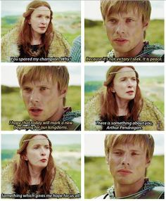 Prince Arthur in Merlin Merlin Memes, Merlin Funny, Merlin Quotes, Sherlock Quotes, Merlin And Arthur, King Arthur, Bbc Tv Shows, Movies And Tv Shows, It's Over Now