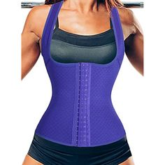 Strong Waist Training Vest,Slim Body Shaper Shirt Sculpts Hourglass Curves >>> You can get more details by clicking on the image. (This is an affiliate link) #Clothing