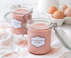 Rezept Rhabarber Curd von Nicest Things - Rezept der Kategorie Saucen/Dips/Brotaufstriche