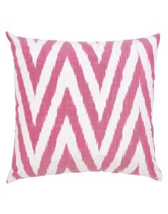Ikat Pillow  In IKT067, $45 for pillow cover. Fabricadabra.      Win this!