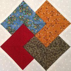 Juego de Naipes es un bloque sencillo y muy bonito porque combina cuatro telas distintas, además de la tela del fondo. Necesitamos los mismos materiales de siempre, aunque para Juego de Naipes utilizaremos 4 telas distintas como si fueran los cuatro palos de la baraja. Puedes visitar la entrada de Estrella de Ohio para … Leer más Machine Quilting Designs, Quilting Projects, Sewing Projects, Cute Quilts, Easy Quilts, Flag Quilt, Quilt Blocks, Pattern Blocks, Quilt Patterns