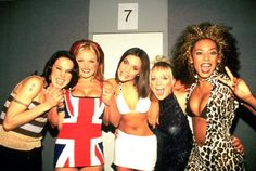 The Spice Girls: 90's Fashion Icons