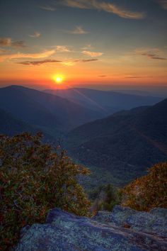 Great Smoky Mountains National Park in Tennessee, USA