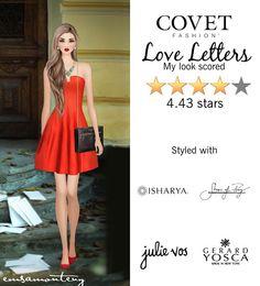 Love Letters @covetfashion #covet #covetfashion #covetfashionapp #fashion #covetfall2015 #fall2015 #womensfashion #shoesofprey #halstonheritage #julievos #isharya #gerardyosca #red #loveletters
