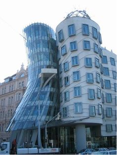 """""""Dancing House"""", Prague, Czech Republic"""