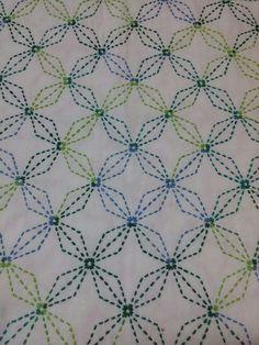 Embroidery Stitches Tutorial, Sashiko Embroidery, Cross Stitch Embroidery, Embroidery Patterns, Baby Quilt Tutorials, Yarn Thread, Cross Stitching, Baby Quilts, Needlepoint