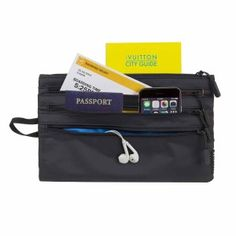 When boarding, please have your boarding pass and passport ready for inspection... anyone wanting to take on this challenge can do so with the Travel Pouch from the Director's Cut collection. But there is space for more than just your ticket, passport, bo